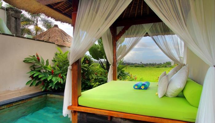 Villa alam puisi Ubud Bali