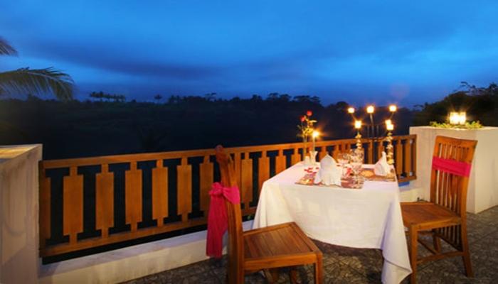 Restourant untuk menimati honeymoon di Ubud