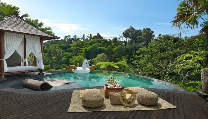 Honeymoon Package Ubud Bali Private Pool Villa 3 Days 2 Nights